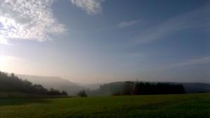 foto vergezicht heuvels