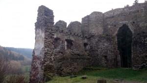 foto ruïne Burg Neublankenheim