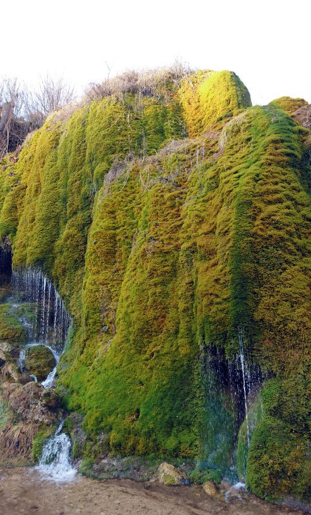 Een waterval in de Eifel