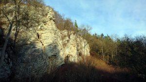 foto rotsformatie in de Eifel
