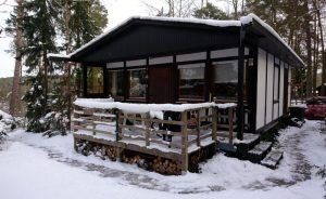 foto vakantiehuis Kalkeifel in de winter